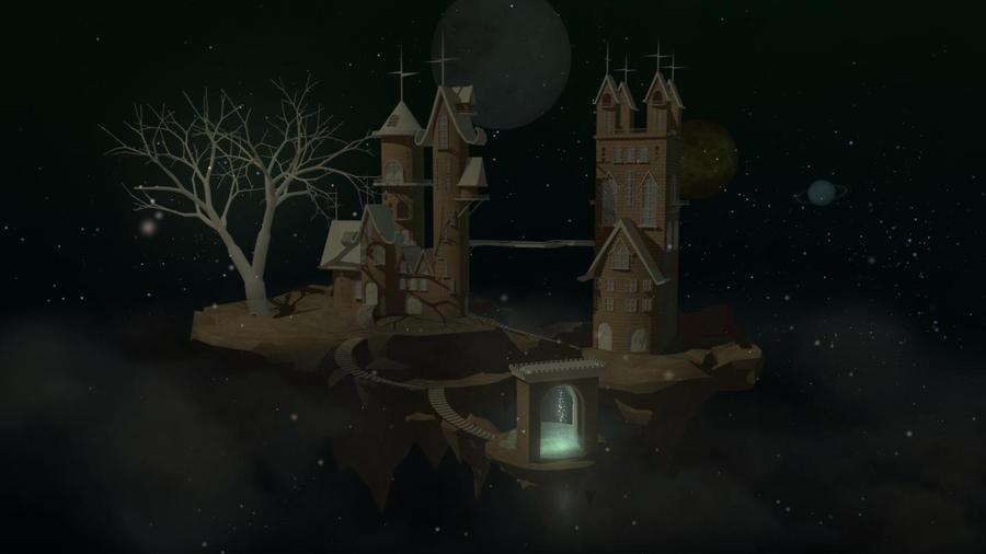 Castle in the sky by Psy20XX