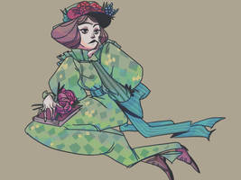random dress by Ghizu