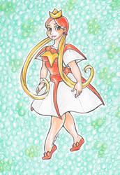 Mademoiselle Magikarp by nickyflamingo