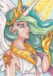 ACEO: Princess Celestia