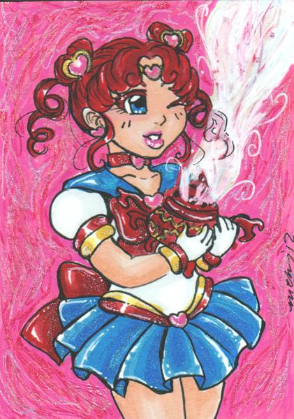 Sailor Chibi Chibi by nickyflamingo