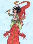 DHP: Mulan by nickyflamingo