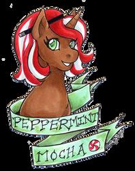 PA Uni Peppermint Mocha bust by nickyflamingo