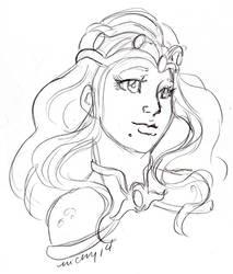 PA Uni V520 sketch by nickyflamingo