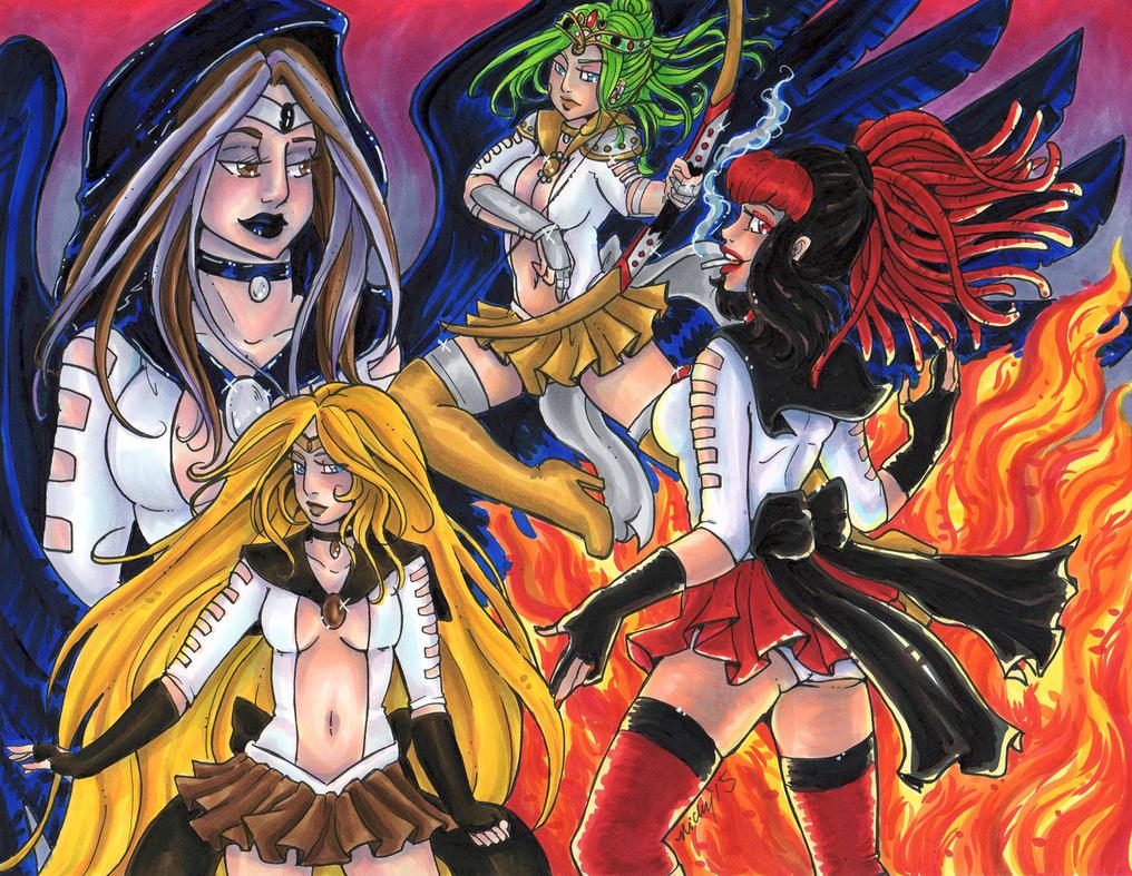 Apocalypse Senshi: Cry Havoc by nickyflamingo