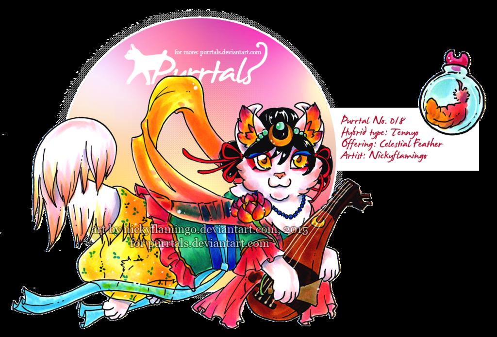 [CLOSED] Purrtal 018 Tennyo by nickyflamingo