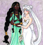 Queens Gaia and Serenity
