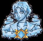 Crystal Portrait Chalcedony