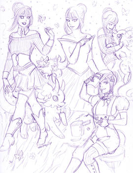 Sketch Page Devra