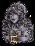 Crystal Portrait Galena