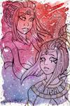 Galaxy Portrait Sailor Scorpius