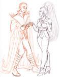 Nebula Knight Carina and Nebula Fury of Tucanae