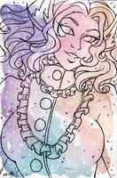Galaxy Portrait Kenisha by nickyflamingo