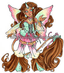 Fairy Bloom Unicorn Adopt 333333 Thank You CLOSED by nickyflamingo