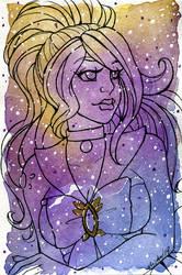 Galaxy Portrait Sailor Musgravite Mamba by nickyflamingo