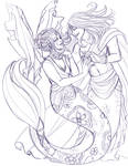 MerMay sketch Selcis and Cepheus