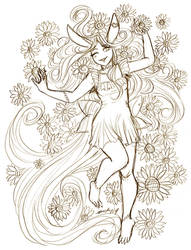 May Reward Rosa Sunflowers by nickyflamingo
