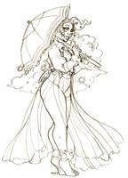 Reward Sketch Daisy