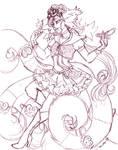 Sketch Reward Minna by nickyflamingo