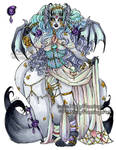 Sinister Siren Kamitsune CLOSED by nickyflamingo
