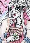 ACEO Candyfloss Liling by nickyflamingo