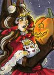 Reward ACEO Halloween Marie