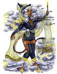 Thunderstorm Witch Unicorn CLOSED by nickyflamingo