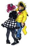 Mauve and Katsura by nickyflamingo