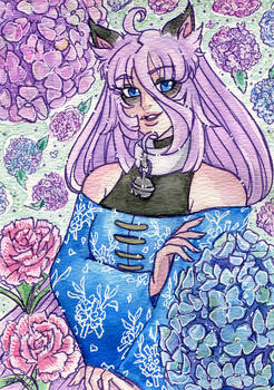 Floral Watercolor Renku