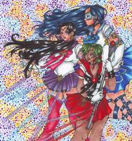 Future Senshi by nickyflamingo