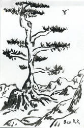 Sumi Pine by BenRR