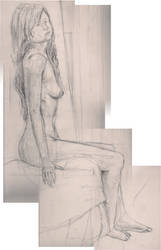 Life Drawing 1 by BenRR