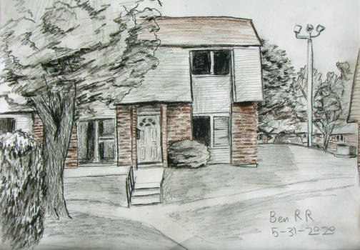 A Drawing of my Apartment Complex