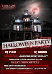 Classic Halloween Flyer Template PSD