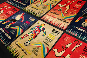 Vintage Football Flyer Template PSD by silentmojo