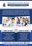Research Study Flyer Template