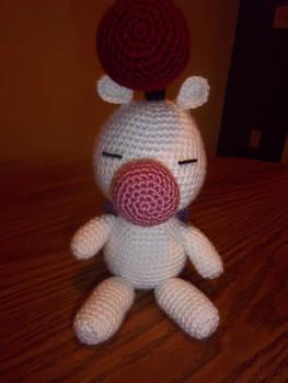 Moogle Crochet Plushie (front view)