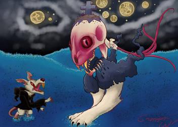 8 Lives - Monster #26 by SailorSealGarri