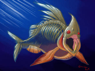 The Aurudon - Monster #10 Redux by SailorSealGarri