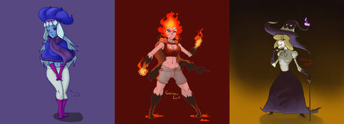 The Witches by SailorSealGarri