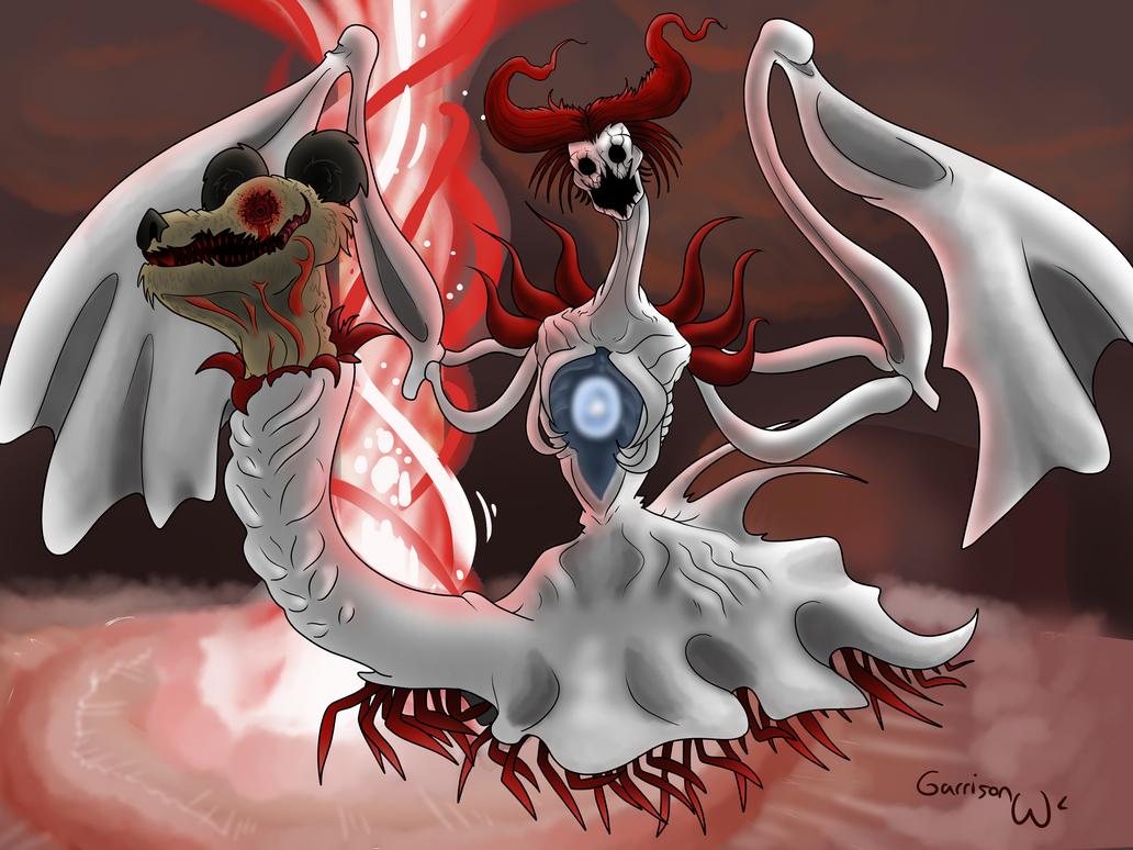 Develchael - The Ultimate Monster by SailorSealGarri