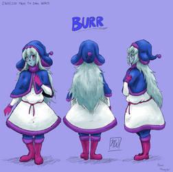 Burr Reference Sheet