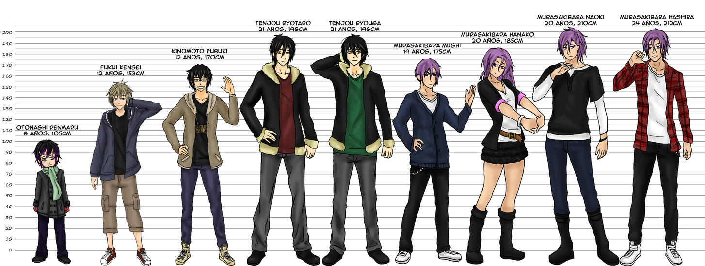 Anime Characters 165 Cm : Cm de amor hermanos by cinnylamejor on deviantart