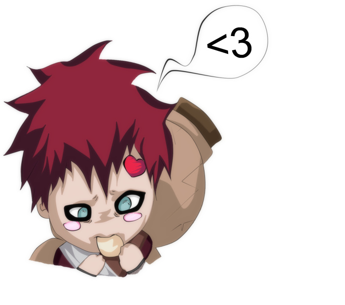 Chibi Gaara by naruto-manga1997 on DeviantArt Gaara And Naruto Chibi