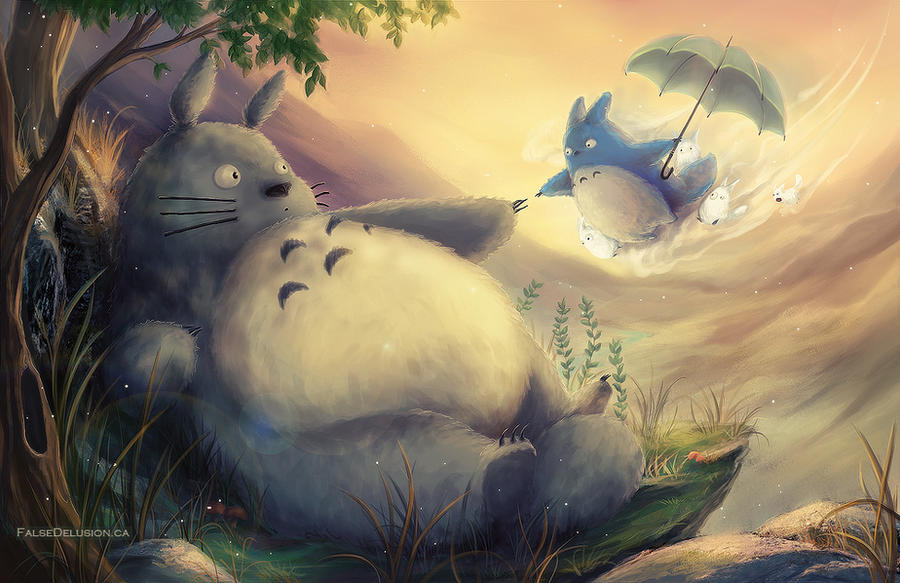Creation of Totoro? by FalseDelusion
