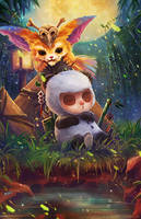 Teemo+Gnar by FalseDelusion
