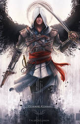 Assassin's Creed - Edward by FalseDelusion
