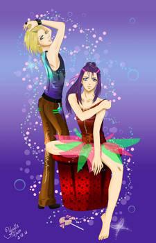 Caramel manga - Eleon and Mishel