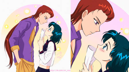 Sailor Moon Ami and Taiki
