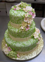 Green Scroll by AnnsCakes